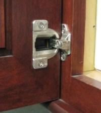 Wood-Mode Cabinet Hinge and Adjustment | Better Kitchens