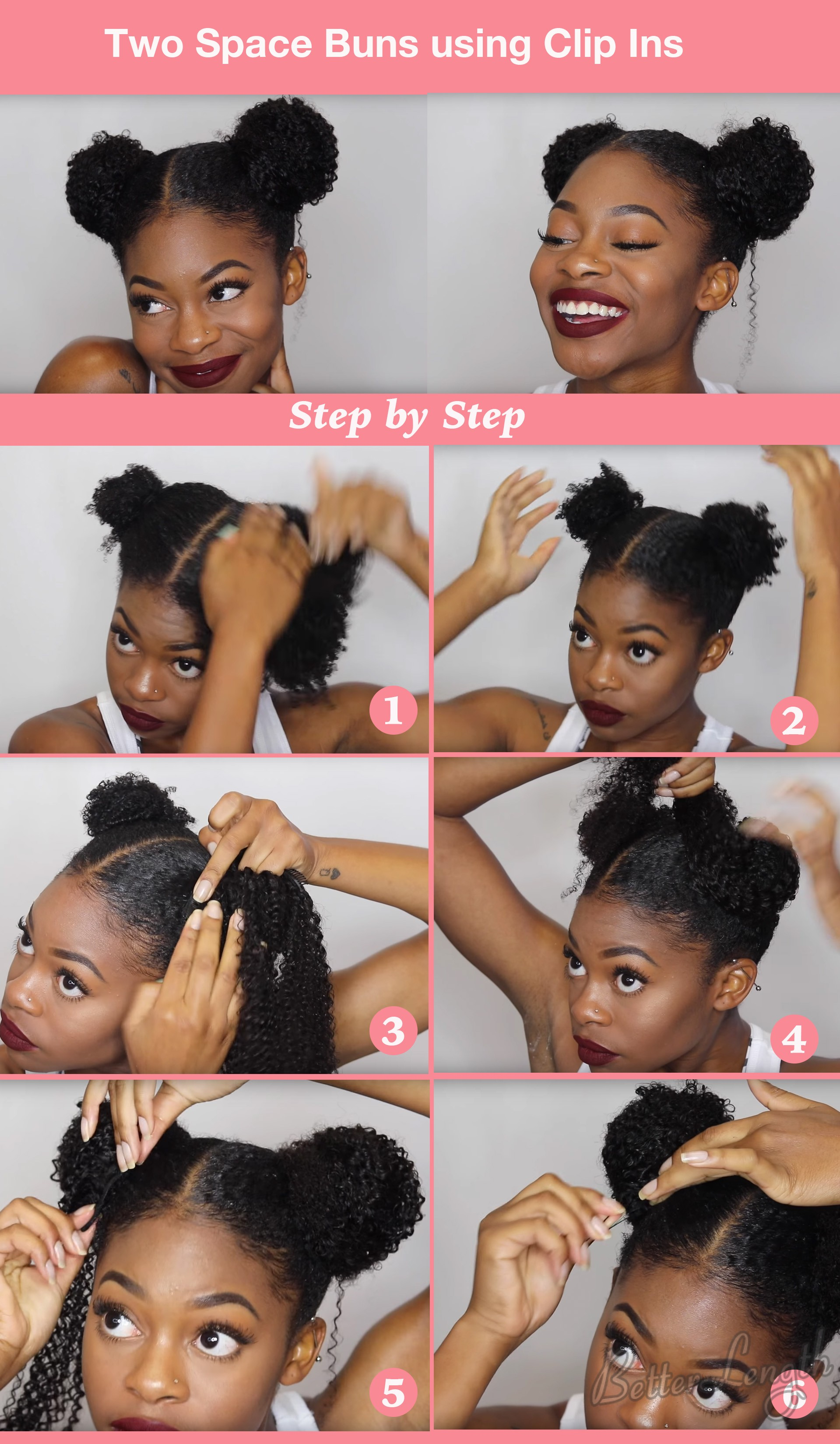 Top 6 Quick Easy Natural Hair Updos Betterlength Hair