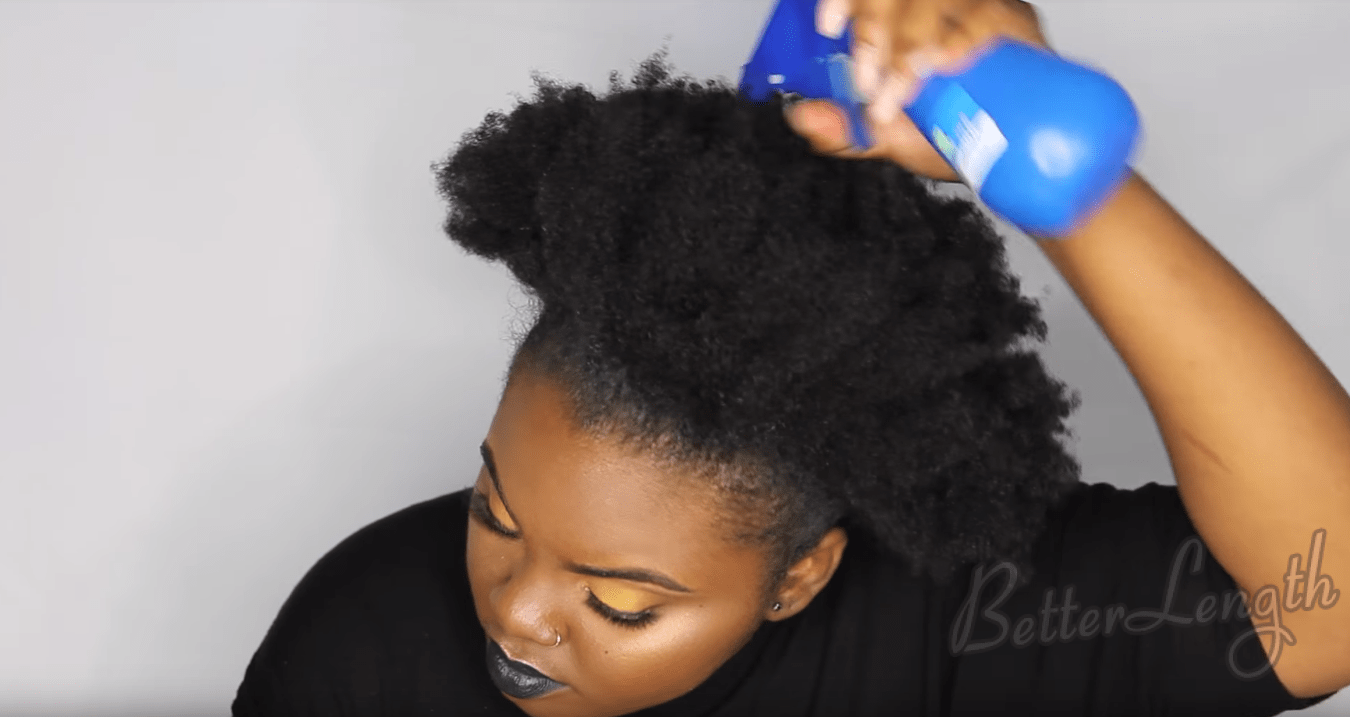 How To Do A Rihanna Inspired Loose High Ponytail On Short 4c