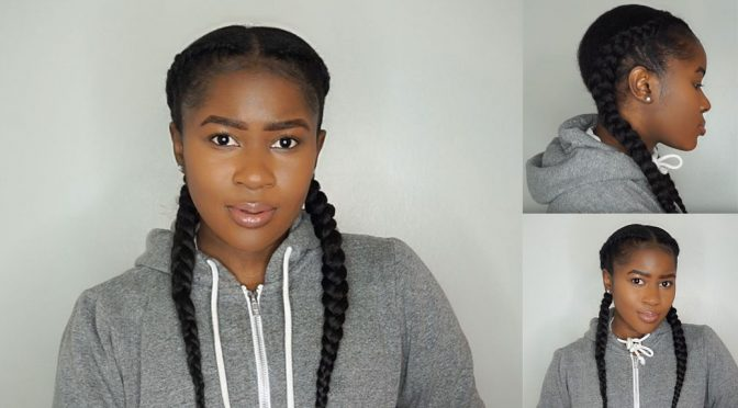 How To Do Feed In Braids Without Using Braiding Hair On Short 4c
