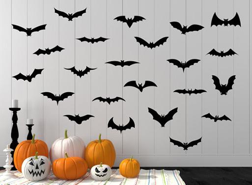 Bat Decal Pack