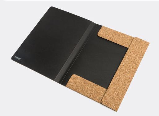 Cork folder A4