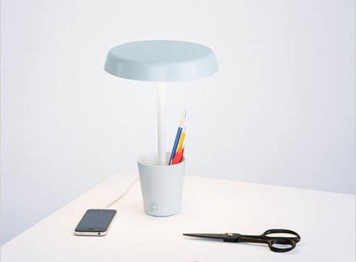 Cup Lamp by Paul Loebach