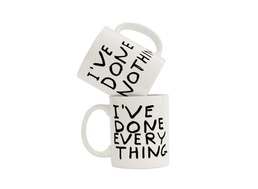 I've Done Everything Mug X David Shrigley
