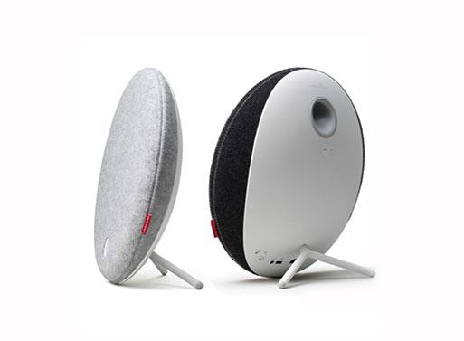 Libratone Loop Wireless Speaker back and side