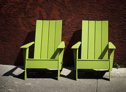 Loll S 4 Slat Adirondack Chair Furnishings Better