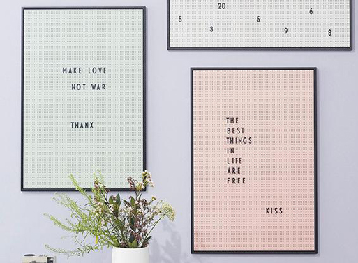 Design Letters Message Board