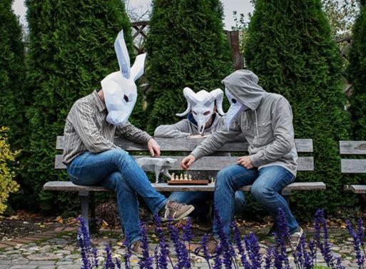Papercraft Halloween Masks
