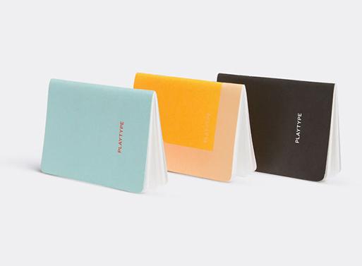 Playtype Notebooks