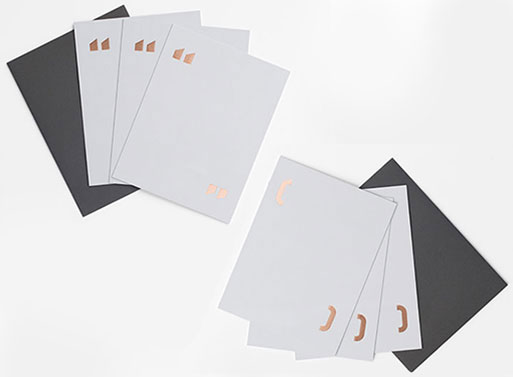Everlane and Paper Chase Press Stationery