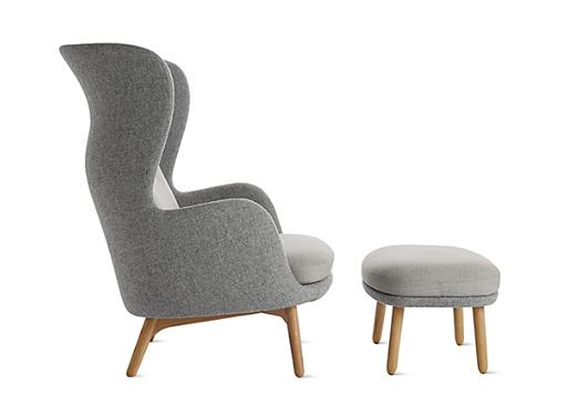 Ro Lounge Chair Light Brey