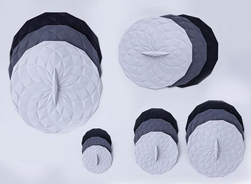 Round Silicone Lids