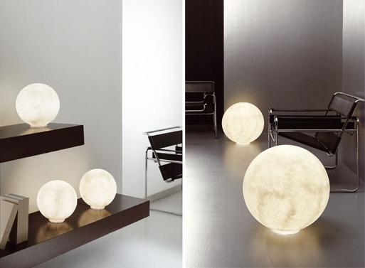 Table Floor Moon Light
