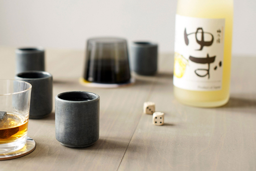 Soapstone Shot Cups setting