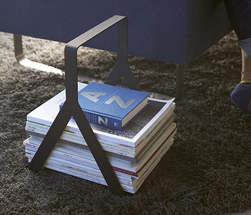 Tower Magazine Rack