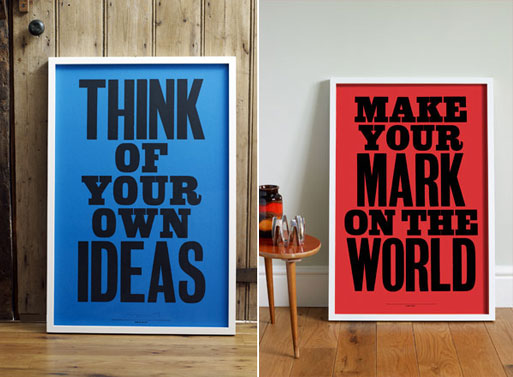 nice living room rugs modern lounge chairs for anthony burrill posters — accessories -- better ...