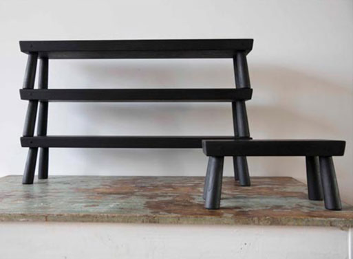 BCM&TCo. Long Low Stool and Step Stool