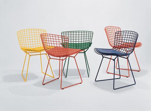 Bertoia Side Chair Colors