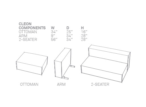 Cleon components