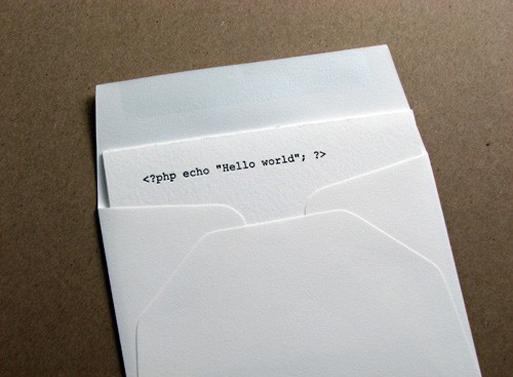 Code Cards hello world