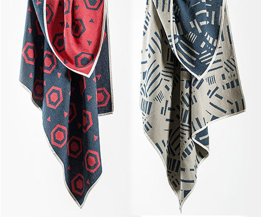 CoopDPS Europa and Brazil Cotton Blankets