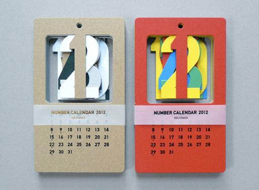 Present and Correct Cut Out Calendar