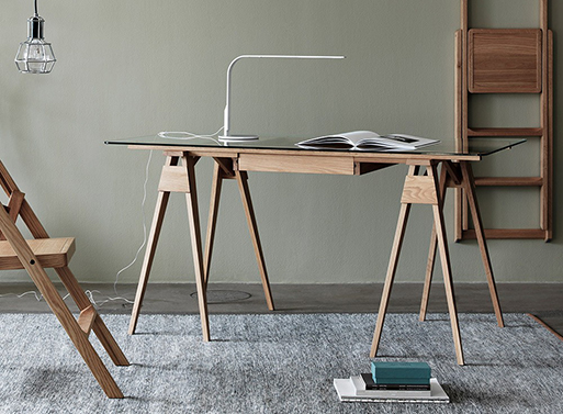 Arco Desk by Design House Stockholm