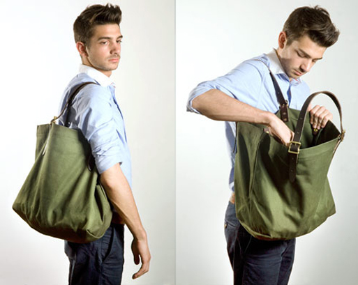 Duluth Pack Canvas Tote Bag