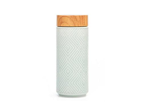 Geo Ceramic Travel Mug