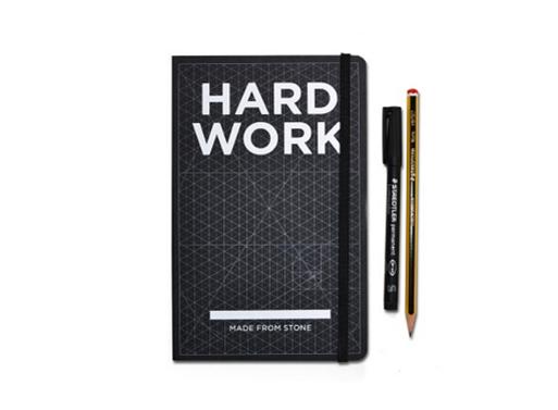 Hundred Million Hard Work Notebook