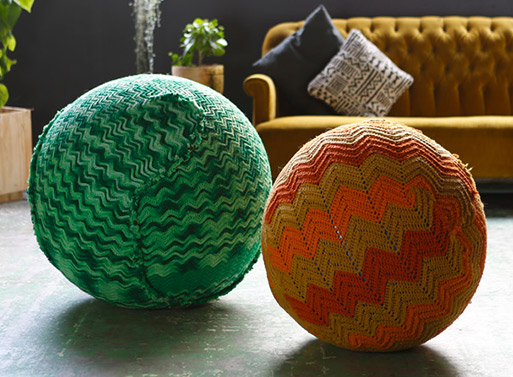 Knitted Yoga Ball