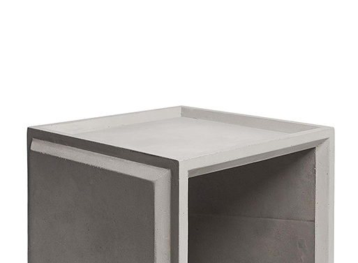 Plus Concrete Modular Storage Solution from Menu