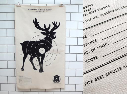 Reindeer Target