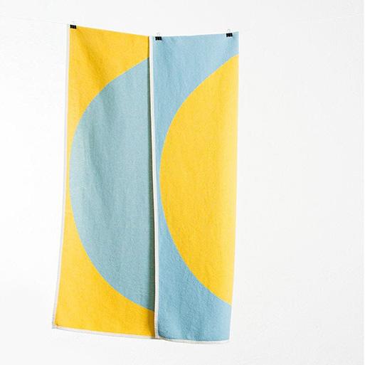 Michelle Rondelli Ginza Cotton Blanket