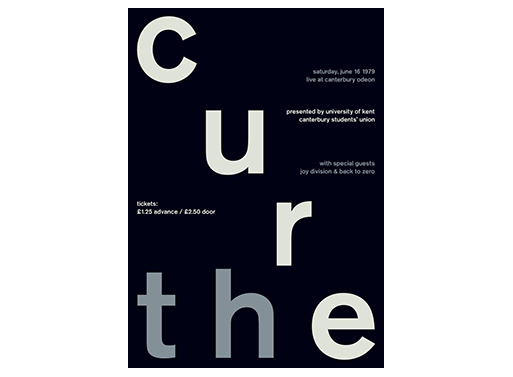 The Cure Swissted Poster