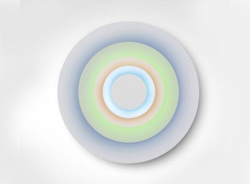 Marset Concentric Minor Wall Light