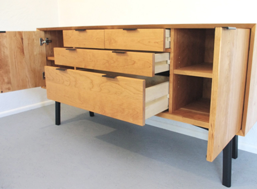 wfour design Sideboard open