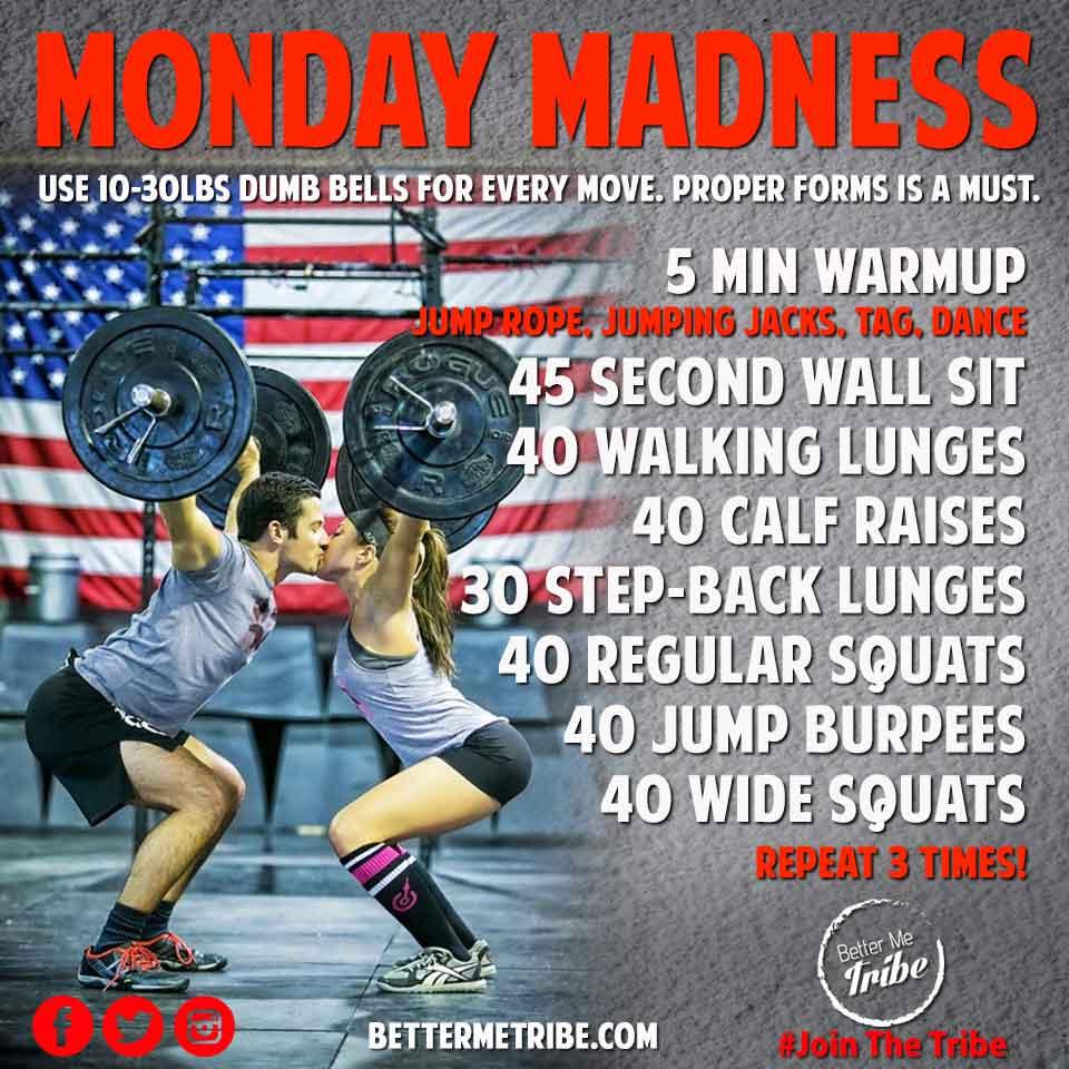 Monday Madness- Week 4