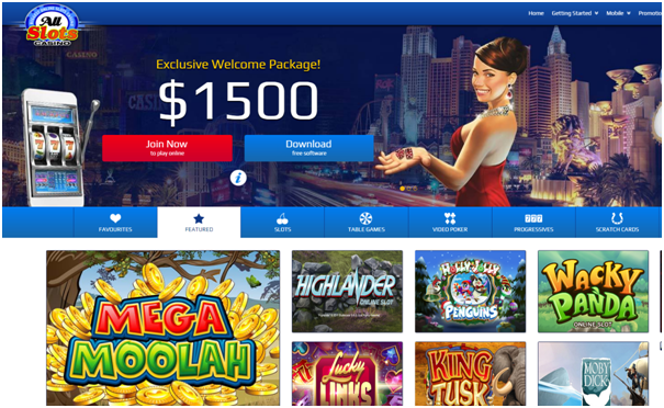 All Slots Casino Canada latest