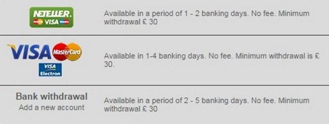 Banking Options