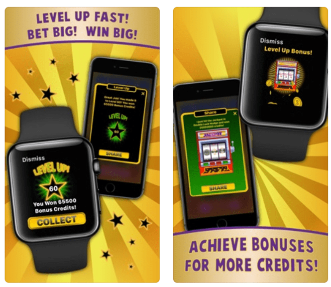 Double Luck Nudge – The first slot to play with Apple Watch