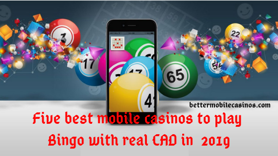 Five best mobile casinos to play Bingo with real CAD in  2019
