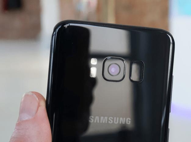 Glass back of Samsung Galaxy S9