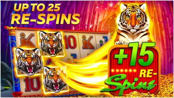 Infinity slots app free spin bonus