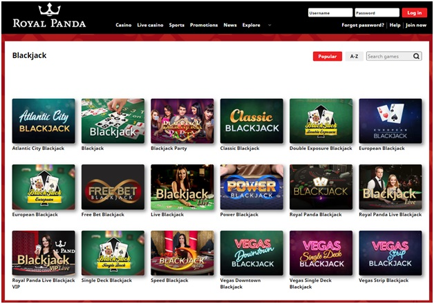 Live Casino Games - Live Blackjack