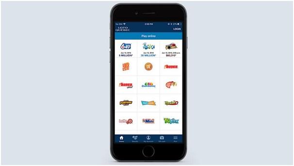 Lotto Quebec mobile app features