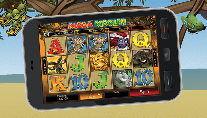 How to Play Mega Moolah Progressive Slot Game with your Mobile in Canada?