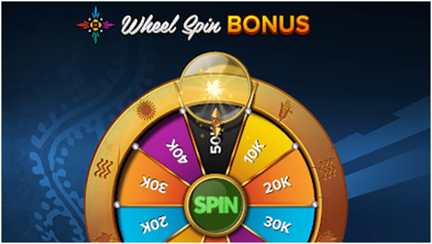 Wheel spin bonus