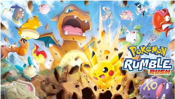 Pokemon Rumble Rush new game app