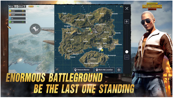 PUBG Mobile game for Canadians